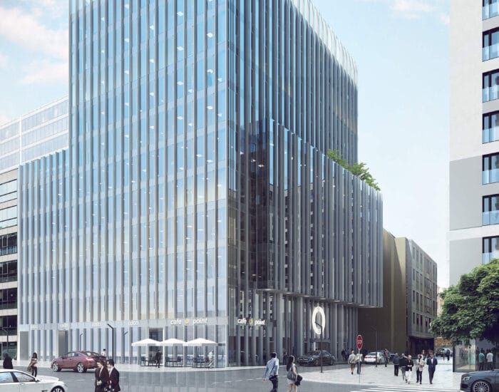 Asbud Group is delivering next stage of its multifunction complex being constructed in the new centre of Warsaw