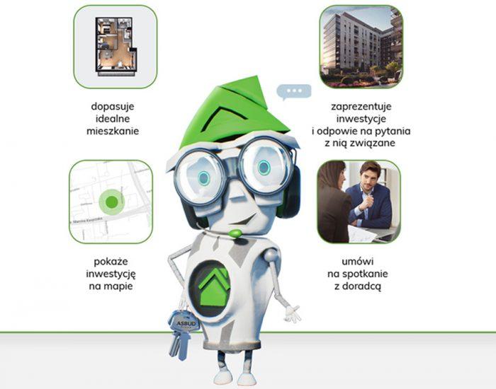 Wirtualny asystent AsBot pomoże wybrać idealne mieszkanie