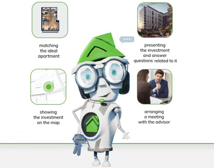 Virtual assistant AsBot helps you choose the perfect apartment
